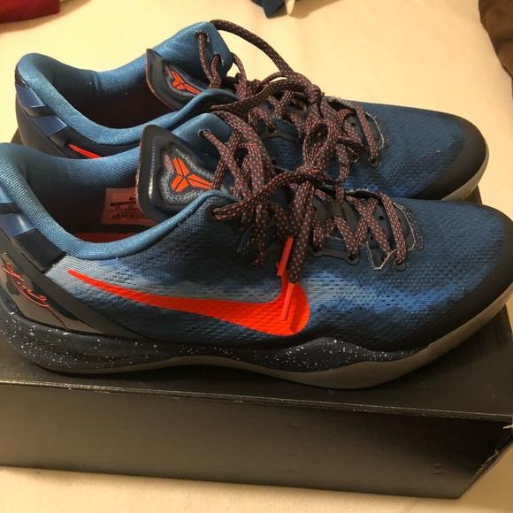 Nike Shoes | Kobe 8 Blue Blitz Size 1m